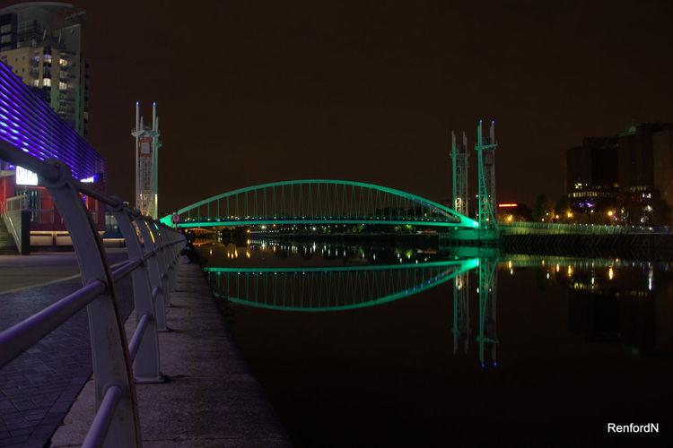 Bridge shot,