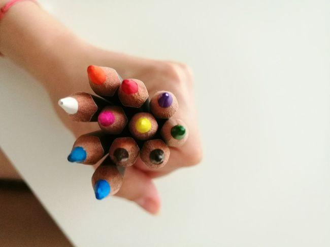 Weekend activities Colors Crayons Crayon Art HuaweiP9 Relaxing Coloring Life Handart Passion Having Fun