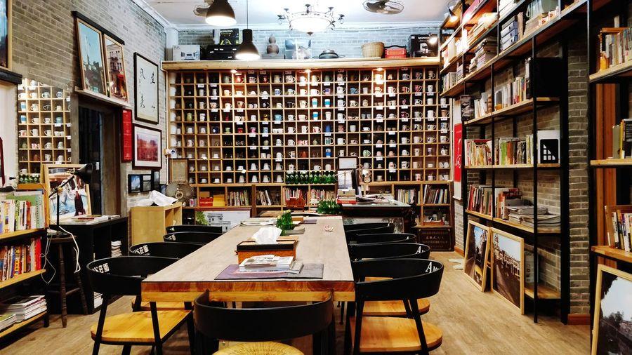 老房子的书房 民俗 家居 Bookshelf