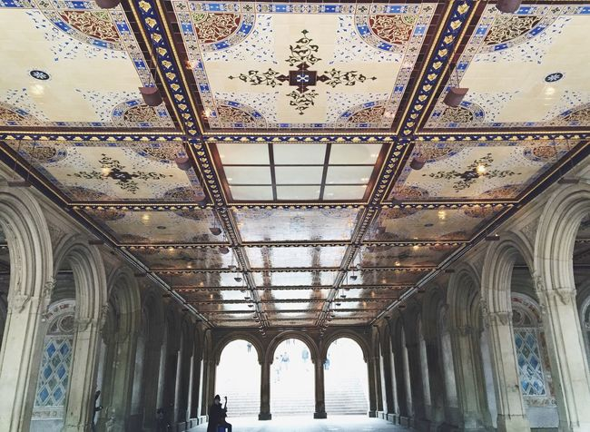Bethesda Terrace Architecture Travel Built Structure Travel Destinations CentralPark Bethesda Central Park Day Bethesda Terrace Bethesda Fountain Newyorkcity Nycphotography First Eyeem Photo New York City NYC Architectural Column Architecture Sightseeing Sight