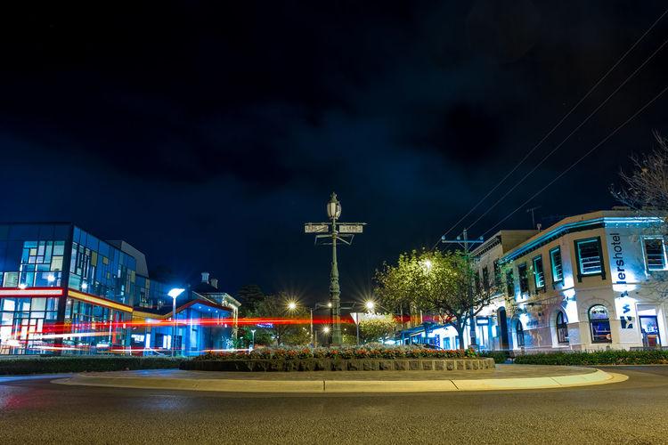 A roundabout