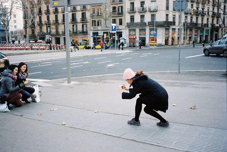 35mm Film Film Kodak Portra Barcelona Streetphotography Taking Photos Enjoying Life Everyday Lives Cheese!