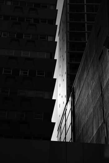 the gap EyeEmNewHere Cityscape Architecture Wellington City New Zealand Building Blackandwhite Photography City Pattern Modern Silhouette Simple Photography Apartment Office Art is Everywhere Sky Shadows & Lights Street Photography Streetphoto_bw New Zealand Landscape