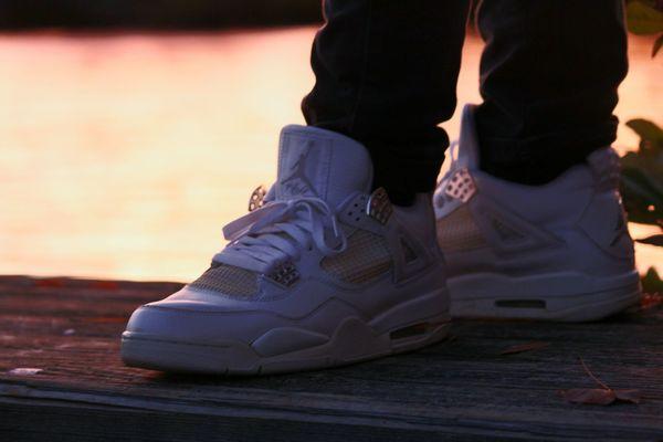 Kotd Kicks Jordans On My Feet  Jordans Shoes EyeEm Selects Adult People Shoe Sunset Sport Sitting Low Section
