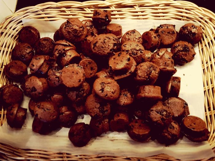 bekery on paper basket EyeEm Selects Dessert Homemade Close-up Sweet Food Food And Drink Chocolate Chip Cookie Unhealthy Lifestyle