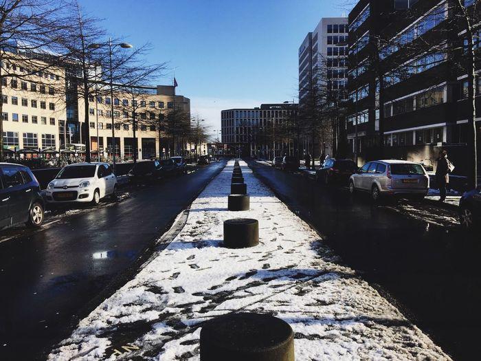 Amersfoort Snow Vscocam
