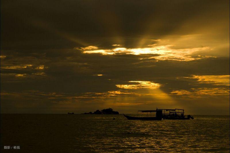 Sunset Nature Malaysia Pangkor