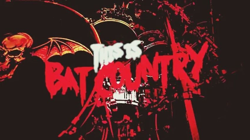 💀 A7x Deathbat Bat Country Avengedsevenfold Avenged Sevenfold Lml