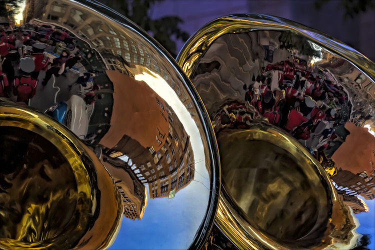 Tuba Band Instruments Brass Instruments Marching Band Instruments Tubas Veterans Day NYC 11_11_17