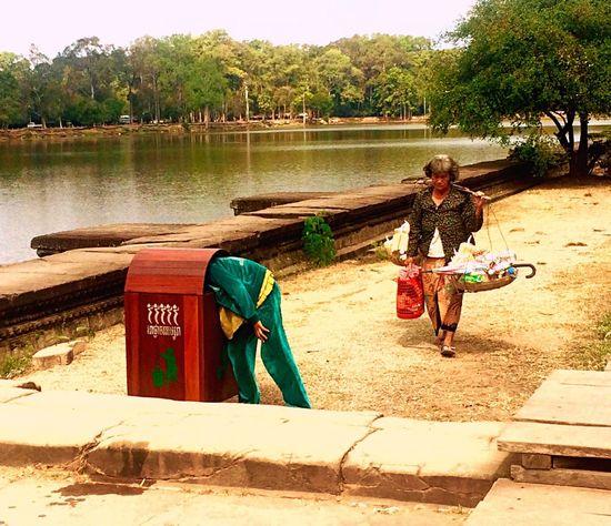 Life Kamboja Ankorwat People Gerl Chaild