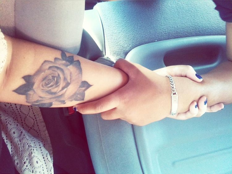 That sister bond With My Sister  Rosetattoo Keep Holding On