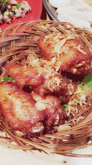 Thaifood Chickenfried Chicken Wings