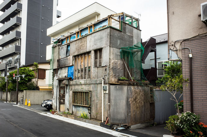 Abandoned Abandoned House Building Exterior Built Structure Japan No People Old Buildings Old House Old Town Tokyo EyeEmNewHere