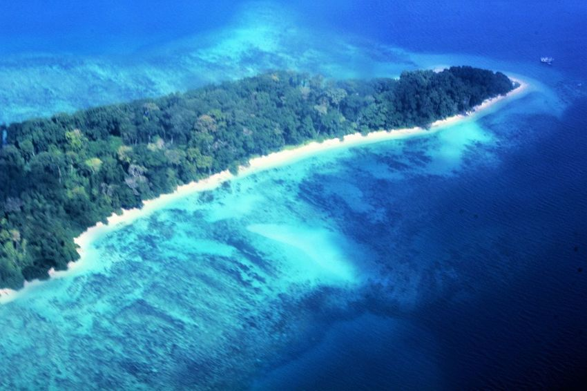 An aerial view of one of the Islands Beach Sea And Sand Beauty In Nature Island Landscape Physical Geography S Solitude