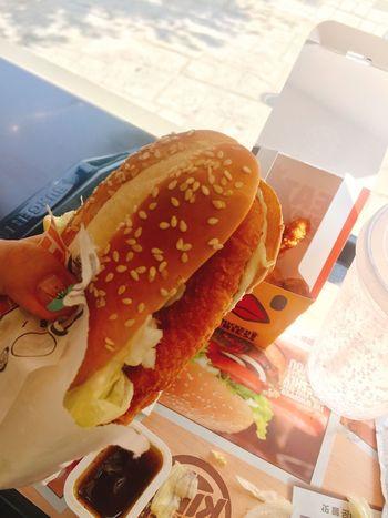 Chicken Burger Burgerking