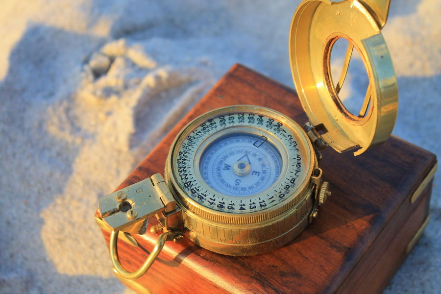 Maritime Orientation Antique Boussole Compass Exploration Kompass Navigation Navigation Equipment Navigational Compass First Eyeem Photo