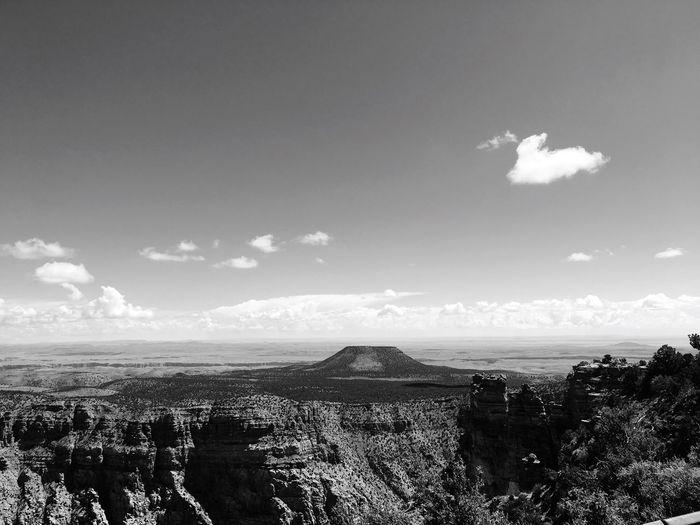 Mountain. Sky