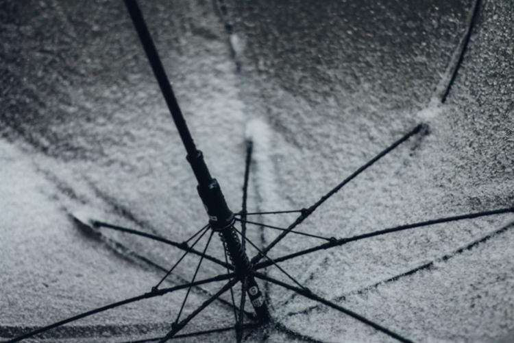 Abstract Winter Snow Snowy Snowing Umbrella Exceptional Normalcy Simplicity Simple Minimalism Minimal Color Redefining White Background White Lines Textured  Backgrounds Cold Temperature Cold Still Life Black And White Fine Art Snow Covered High Angle View No People Day Metal Protection Close-up Security Outdoors Spoke Nature Focus On Foreground Footpath Selective Focus Safety Shadow Transportation Flooring Bicycle 17.62° My Best Photo