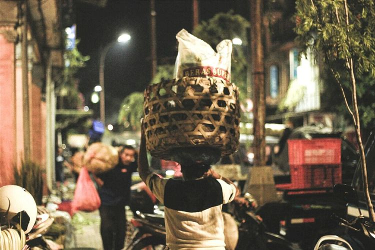 Traditional market Night Celebration Christmas Outdoors Christmas Decoration No People Christmas Tree Close-up Marketplace Traditional Balinese Bali, Indonesia