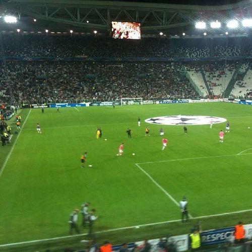 Juve Juventus Vedobianconero OneLove Iloveit Inside Bestplace Magic Special Bianconero Forzajuve Finoallafine Instajuve Juventusstadium Stadium Uefachampionsleague UEFA Champions League Turin Cup