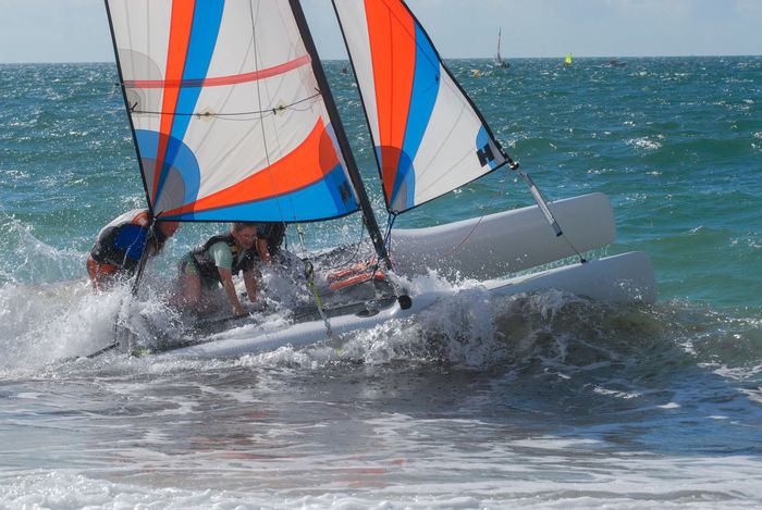 Catamaran Extreme Sports Horizon Over Water Motion Nature Nautical Vessel Sea Sky Sport Water Waterfront Be. Ready.