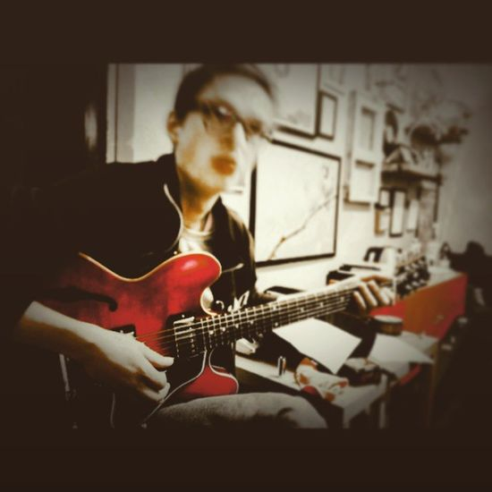 Another day in the studio with SensExperiencE Sensxp Mvm Viterbo brunomars production gibson 335 guitar