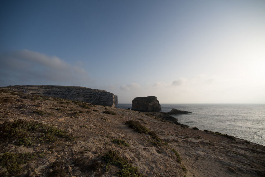 azure window, gozo, Malta Azure Beach Blue Day Heaven Horizon Over Water Islandlife Landscape Nature Nature No People Outdoors Sea Sun Wind Window
