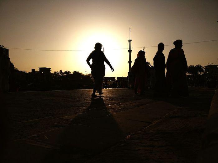 Pune Alandi Ekadashi Silhouette People