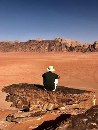Me@ Travel Destinations Travel Destinations Travel Wadi Rum Premium Collection EyeEm EyeEm Selects Photooftheday Popular Photos EyeEm Best Shots EyeEm Nature Lover Eye4photography  EyeEm Gallery EyeEm Best Shots - Nature Environment Land Landscape Sky Nature Clear Sky Scenics - Nature A New Perspective On Life