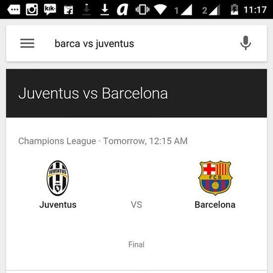 BarcelonaVsJuventus Uefachampionsleague CLfinal Barcelona