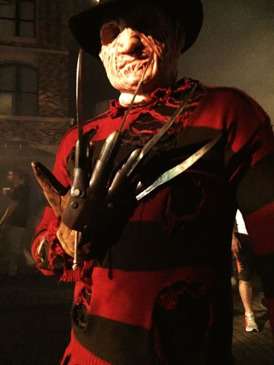 Halloween Horror Nights HHN25 Hhn Freddy Krueger Nightmare On Elm Street Universal Studios Orlando