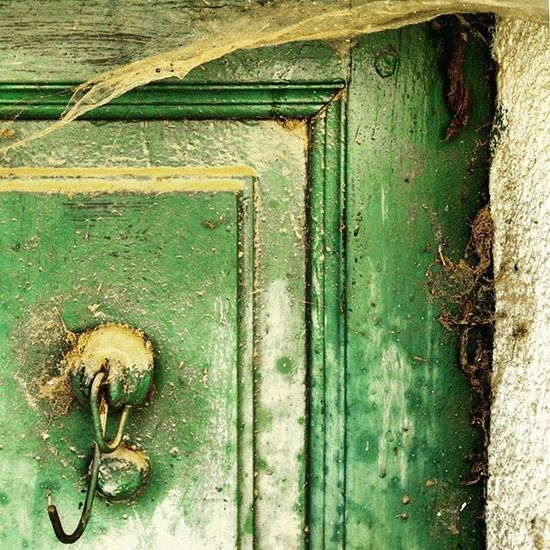 cobwebs on the old door Door Doors Cobweb Cobwebs Ig_asti_ Igdoors Green Ragnatela Ragnatele Porta Old Oldhouselove Oldhouse Verde Vecchie