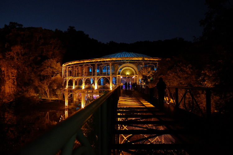 Brazil Curitiba Operahouse Nightphotography