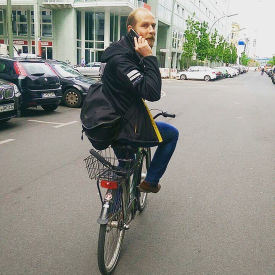 Bike to conference: City ride through Berlin to República  2015. Rp15 Adobe Commuting Bicycle Cycling Fahrrad Biketoconference