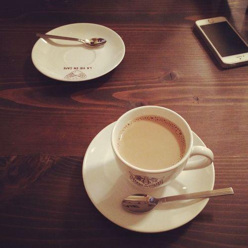 ホットミルクコーヒー