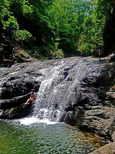 Imoy Falls in Leon, Iloilo Ph.