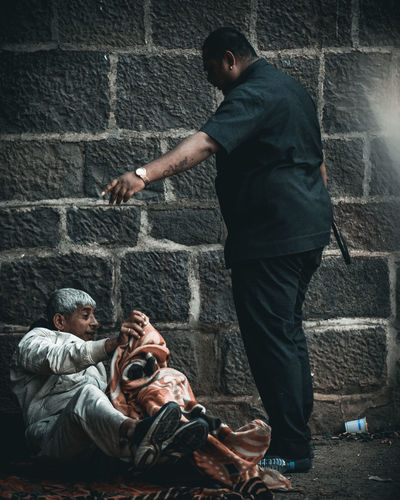 angel The Photojournalist - 2019 EyeEm Awards Men City Trapped Crime Young Men Prisoner Conflict Brick Wall Violence Crime Scene Evidence Victim The Street Photographer - 2019 EyeEm Awards