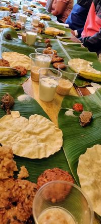 Chennai Street Foof Photowalktheworld Oneplus6 Street Food Chennai Street Food Indian Southern India Choice Variation Market Food And Drink Close-up Banana Leaf Display Temptation Indulgence