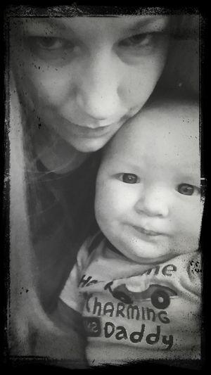 We make the same faces. :)