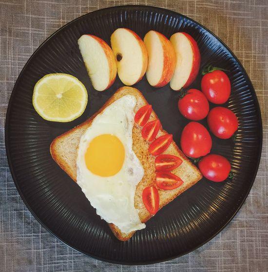 【❤️】今天还蛮暖和的😜 春子私房菜 一个人生活 手机摄影 美食 早餐