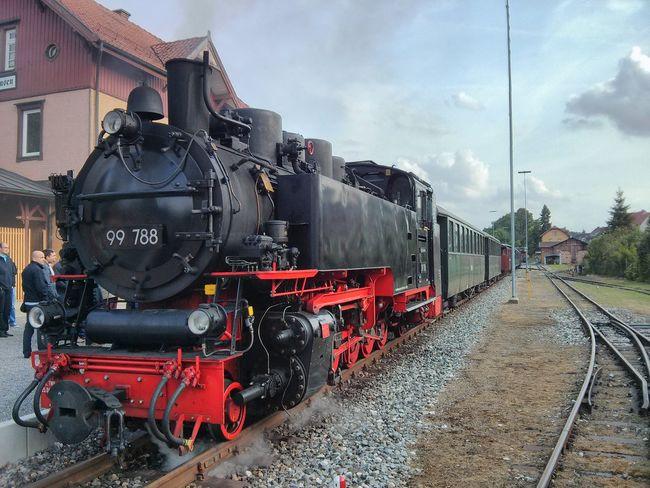 Train - Vehicle Rail Transportation Mode Of Transport Transportation Railroad Track Steam Train Locomotive