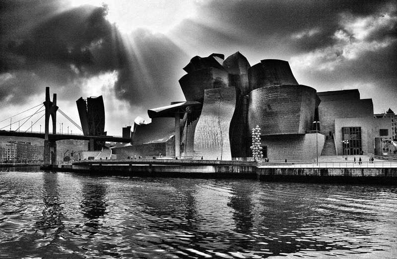The Guggenheim Museum from the other side of the river. It was a cloudy Sunday morning... Architecture Bilbao Building Building Exterior Built Structure Cloud Cloud - Sky Cloudy E-M1 Esolympus Famous Place Guggenheim Guggenheim Bilbao Guggenheimbilbao Gugggenheim Bilbao Museum Olympus Olympus OM-D EM-1 OM-D Reflection River Sky SPAIN Water Waterfront