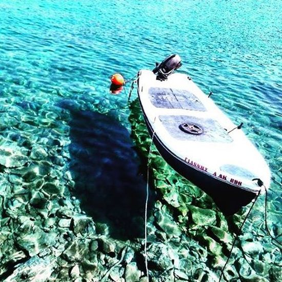 Πιο μπλε κι απ'το μπλε.⛵ Ikariaa Ikariagram Myisland Lovelovelove Blue Sea Seavoice Limani Summer Summermood Summer2015 Evdilos Boat White Unforgettablemoments Happyvibes Friendsarevaluable Befreeasabird Andshareyourlove ⚓