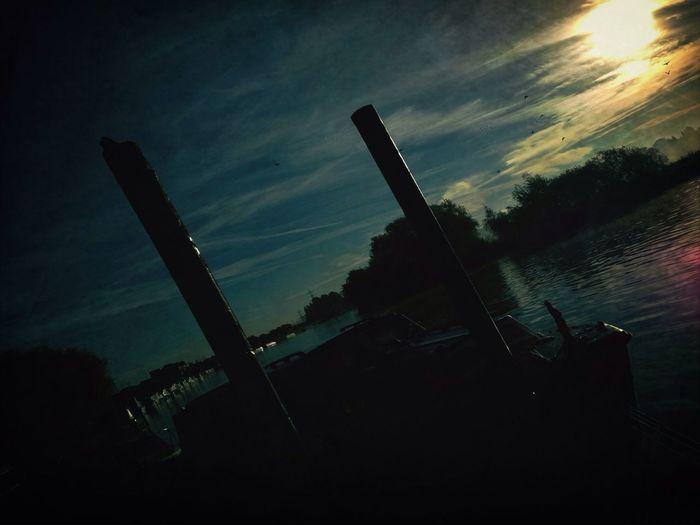 Day for night on the pontoon @ beeston marina
