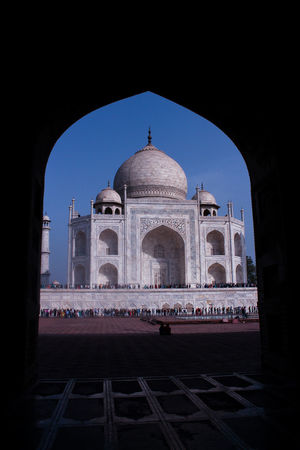 India Taj Mahal City Dome Place Of Worship Business Finance And Industry Arch Architecture Calligraphy Historic Chinese Script Architectural Feature Architectural Detail Architecture And Art Architectural Design Grave Tomb Brick Carving - Craft Product