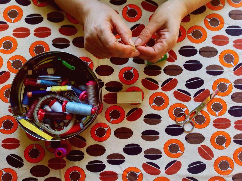 Hands Colour Colors Sew Relaxing Job! Job Cotton Old Job  Oldschool