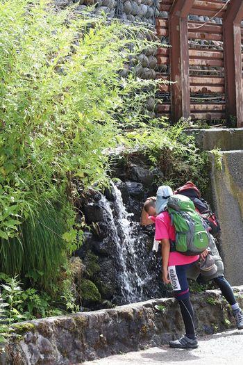 涼 🌿natural Green Color Outdoors Taking Photos Water_collection EyeEm Gallery Nature_collection Nature Photography EyeEm Nature Lover Mountain Climbing Holiday Moments