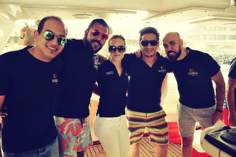 Yacht Imsocial Family Friends Party Mydubai Dubai DXB