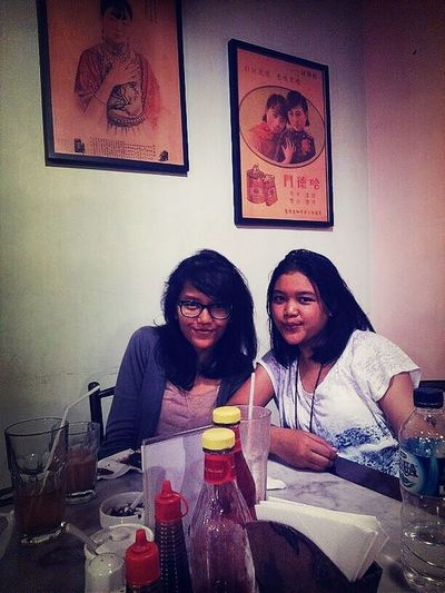 let's party, happy birthday my bitch friend Ozy, and this is my picture with bestfriend ribca, miss you more all