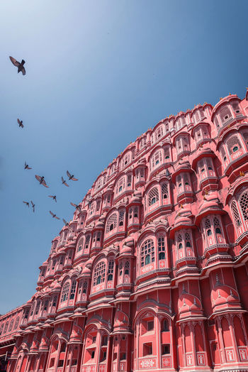 Hawa mahal the pink city on jaipur,india